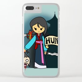A HUNting the BAMF saviour of China we will go Clear iPhone Case
