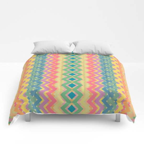 Summer-color Pattern Comforters