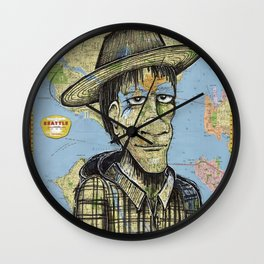 Seattle, Washington Wall Clock