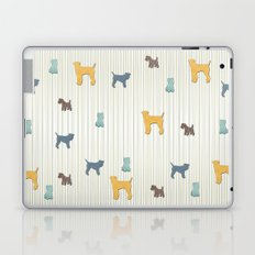 Going To The Dogs Plaid Terriers Laptop & iPad Skin