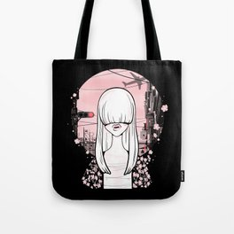 invisible girl Tote Bag