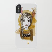 hippie iPhone & iPod Cases featuring Hippie by Janry