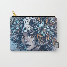 Night Cat Witch Carry-All Pouch