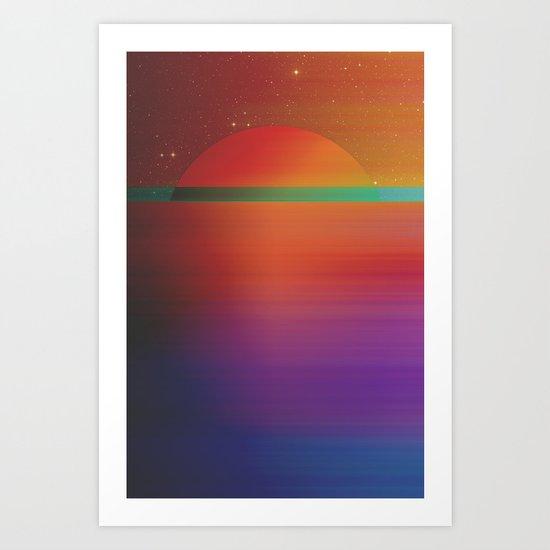 Astral Horizon 2 Art Print