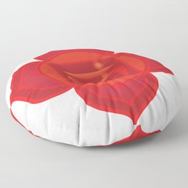Muladhara Root Red Chakra Floor Pillow