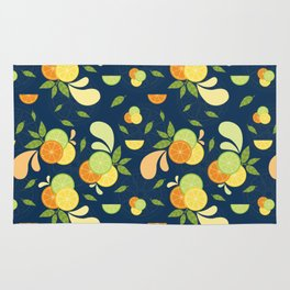 Citrus Splash Rug