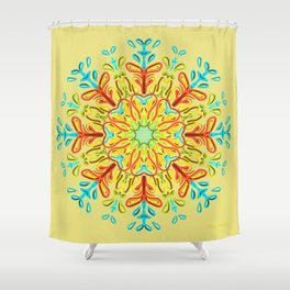 Gracias a la Vida (De amanecida) Shower Curtain
