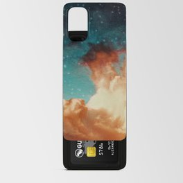 Seeing a City in the Clouds Android Card Case