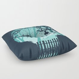 Don't Look Back In Anger Floor Pillow