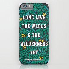Weeds and Wilderness Slim Case iPhone 6s