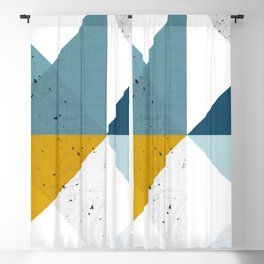 Modern Geometric 17 Blackout Curtain