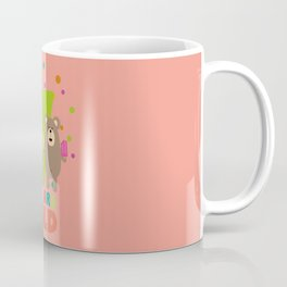 Seven Years seventh Birthday Party Grizzly Dde70 Coffee Mug