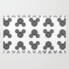 Mickey Mouse Mandala Rug