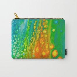 Aqua orange Carry-All Pouch