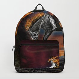 Texas Ghost Rider Backpack