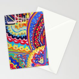 Watercolor Painting Stationery Cards