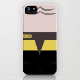 B'Elanna Torres - Minimalist Star Trek: Voyager VOY - startrek - Trektangles - Trektangle - klingon iPhone Case