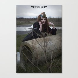 Alone in the Wasteland Pin-p 4 Canvas Print