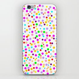 Colorful Rain 15 iPhone Skin