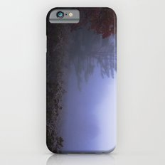 Early morning in a foggy and frosty autumn morning at Sharron Woods iPhone 6s Slim Case