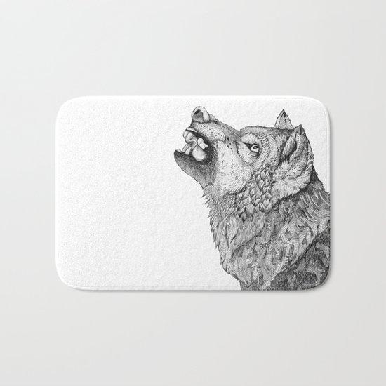 Wolf // Graphite Bath Mat