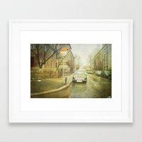 mini Framed Art Prints featuring Mini by Esco