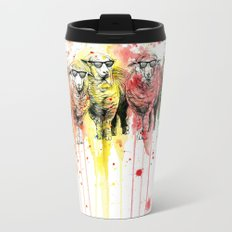 We are all sophisticated sheep Travel Mug