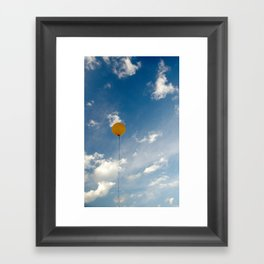 i want to be a new planet Framed Art Print