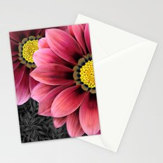 zany flowers Stationery Cards