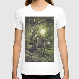 Harry and Dumbledore in the Horcrux Cave T-shirt