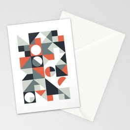 Mid Century Geometric 04 Stationery Cards