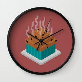 Muffs Wall Clock