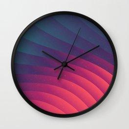 Reservoir Lines Wall Clock