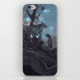The Dreamteller of the Departed iPhone Skin