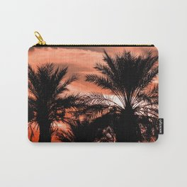 Palm Sunset Carry-All Pouch