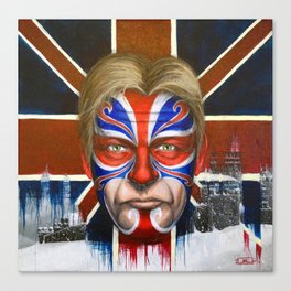 Captain Britain Canvas Print