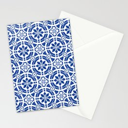 Hand-painted original Portuguese tile Stationery Cards