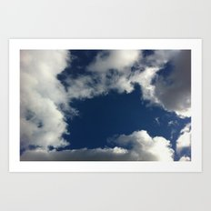 Up Above Art Print