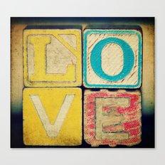 Old Love  Canvas Print
