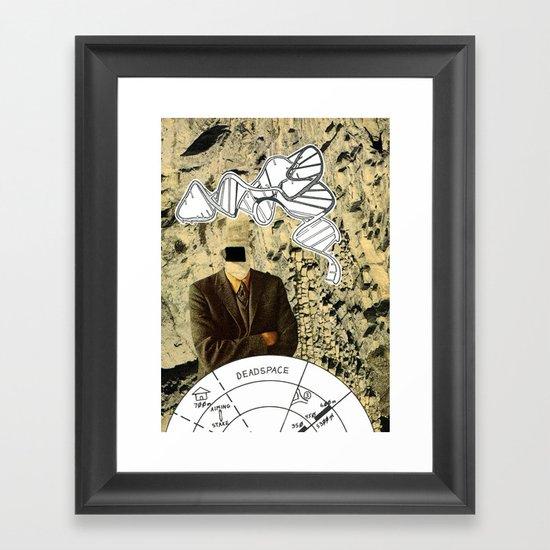 Dead Space Framed Art Print
