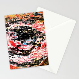 The flame in the look Stationery Cards