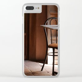 An Invitation to Relax Clear iPhone Case