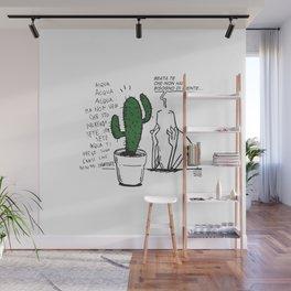 Beata te che non hai bisogno di niente... Wall Mural
