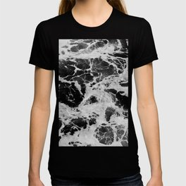 Black and White Waves T-shirt