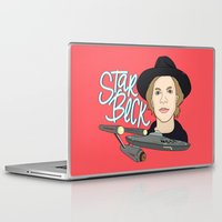 cassia beck Laptop & iPad Skins featuring Star Beck by Chelsea Herrick