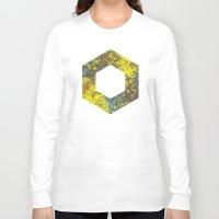 hexagon Long Sleeve T-shirts featuring Hexagon by Daniel DeVinney