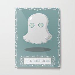 Ghost Boss Metal Print