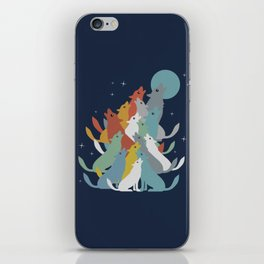 A Pack of Wolfs iPhone Skin