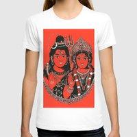 shiva T-shirts featuring Shiva Shakti by Anastasia Fomina