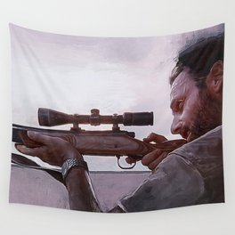 Rifleman Rick Grimes - The Walking Dead Wall Tapestry